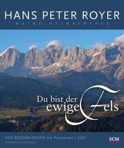 Der Bergkalender 2021 – Postkartenkalender von Royer,  Hans Peter