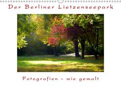 Der Berliner Lietzenseepark (Wandkalender 2019 DIN A3 quer) von Hoyen,  Bernd