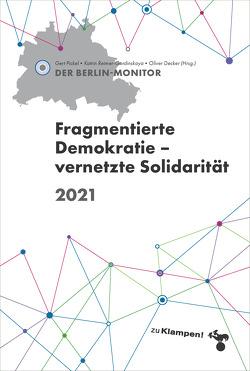 Der Berlinmonitor 2021 von Decker,  Oliver, Pickel,  Gert, Reimer-Gordinskaya,  Katrin
