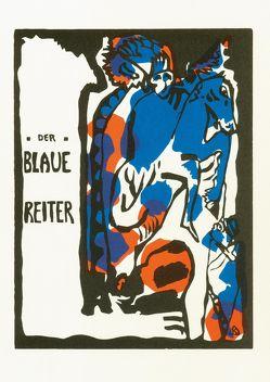 Der Blaue Reiter von Kandinsky,  Wassily, Marc,  Franz