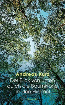 Der Blick von unten durch die Baumkrone in den Himmel von Kurz,  Andreas