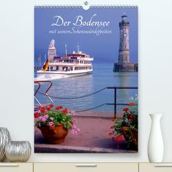Der Bodensee mit seinen Sehenswürdigkeiten (Premium, hochwertiger DIN A2 Wandkalender 2020, Kunstdruck in Hochglanz) von Reupert,  Lothar