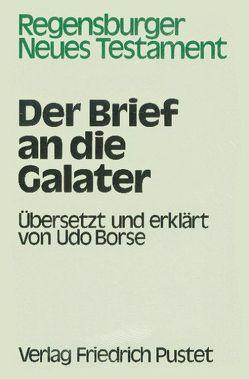 Der Brief an die Galater von Borse,  Udo