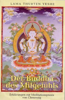 Der Buddha des Mitgefühls von Courtin,  Robina, Wellnitz,  Claudia, Yeshe,  Thubten