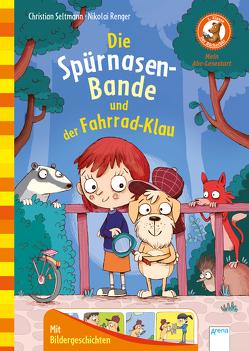 Die Spürnasen-Bande und der Fahrradklau von Renger,  Nikolai, Seltmann,  Christian