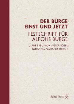 Der Bürge einst und jetzt von Babusiaux,  Ulrike, Nobel,  Peter, Platschek,  Joahnnes