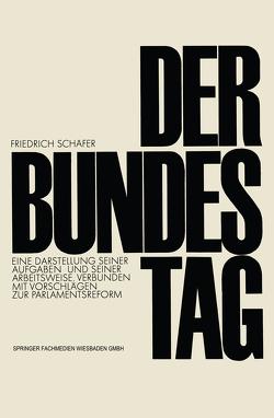 Der Bundestag von Schäfer,  Friedrich