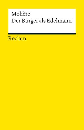 Der Bürger als Edelmann von Luther,  Arthur, Molière