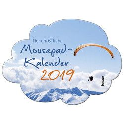 Der christliche Mousepad-Kalender 2019 von Klingner,  Dirk