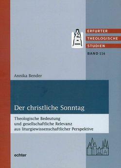 Der christliche Sonntag von Bender,  Annika