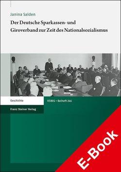 Der Deutsche Sparkassen- und Giroverband zur Zeit des Nationalsozialismus von Salden,  Janina