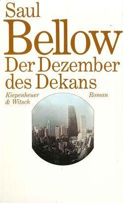 Der Dezember des Dekans von Bellow,  Saul, Hasenclever,  Walter