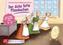 Der dicke fette Pfannkuchen. Kamishibai Bildkartenset. von Bohnstedt,  Antje, Klement,  Simone