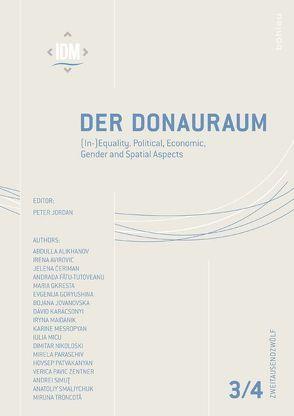 Der Donauraum Jg. 52/3-4, 2012 von Jordan,  Peter