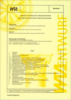 Der Echte Hausschwamm – Erkennung, Lebensbedingungen, vorbeugende Maßnahmen, bekämpfende chemische Maßnahmen, Leistungsverzeichnis.