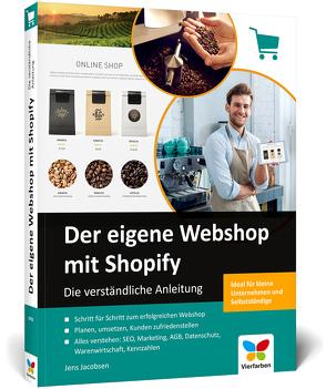 Der eigene Webshop mit Shopify von Jacobsen,  Jens