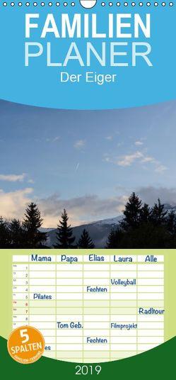 Der Eiger – Familienplaner hoch (Wandkalender 2019 , 21 cm x 45 cm, hoch) von Kulla,  Alexander