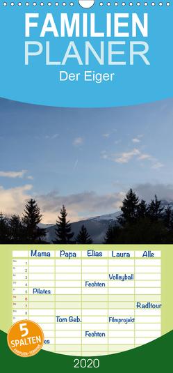 Der Eiger – Familienplaner hoch (Wandkalender 2020 , 21 cm x 45 cm, hoch) von Kulla,  Alexander