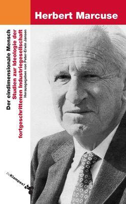 Der eindimensionale Mensch von Jansen,  Peter-Erwin, Marcuse,  Herbert