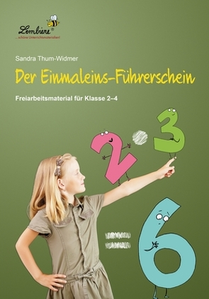 Der Einmaleins-Führerschein: Freiarbeitsmaterial für den Mathematikunterricht in Klasse 2 – 4, Mappe von Thum-Widmer,  Sandra