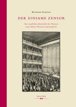 Der einsame Zensor von Eisendle,  Reinhard
