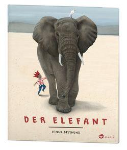 Der Elefant von Birkenstädt,  Sophie, Desmond,  Jenni