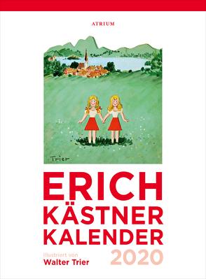 Der Erich Kästner Kalender 2020 von Erich,  Kästner, Walter,  Trier
