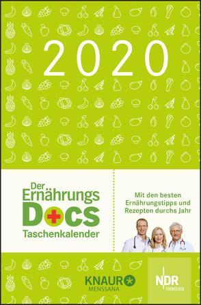 Der Ernährungs-Docs-Taschenkalender 2020 von Fleck,  Anne, Klasen,  Jörn, Riedl,  Matthias