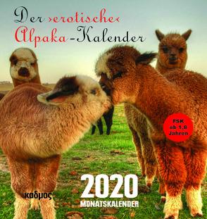 Der ›erotische‹ Alpaka-Kalender (2020) von Burckhardt,  Wolfram