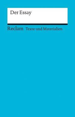 Der Essay von Kellermann,  Ralf
