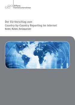 Der EU-Vorschlag zum Country-by-Country Reporting im Internet