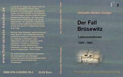 Der Fall Brüsewitz von Richter-Kariger