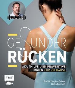Der Fitnessprofessor – Gesunder Rücken von Geisler,  Stephan, Remmert,  Stefan