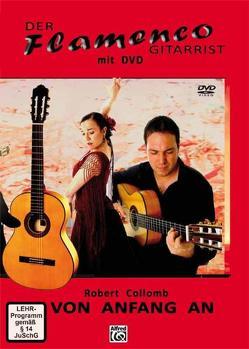 Der Flamenco Gitarrist von Collomb,  Robert
