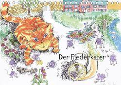 Der Flederkater (Tischkalender 2019 DIN A5 quer) von Thümmler,  Silke