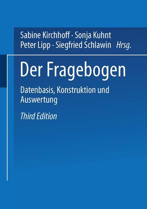 Der Fragebogen von Kirchhoff,  Sabine, Kuhnt,  Sonja, Lipp,  Peter, Schlawin,  Siegfried