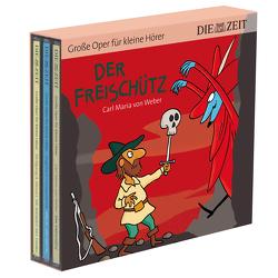 Der Freischütz, Hänsel und Gretel, Die Hochzeit des Figaro – Die ZEIT-Edition (3 CDs) von Könnecke,  Ole, Petzold,  Bert Alexander, von Weber,  Carl Maria