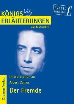 Der Fremde – L'Étranger von Albert Camus. von Camus,  Albert, Poppe,  Reiner