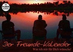 Der Freunde-Kalender (Wandkalender 2018 DIN A2 quer) von Stanzer,  Elisabeth