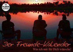 Der Freunde-Kalender (Wandkalender 2019 DIN A3 quer)