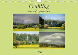 Der Frühling eine aufregende Zeit (Wandkalender 2020 DIN A4 quer) von Rufotos