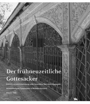 Der frühneuzeitliche Gottesacker von Rüber-Schütte,  Elisabeth, Tietz,  Anja A, Wendland,  Ulrike
