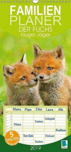 Der Fuchs: Kluger Jäger (Wandkalender 2019 PRO_49_format hoch) von CALVENDO