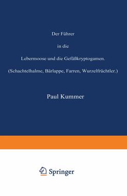 Der Führer in die Lebermoose und die Gefäßkryptogamen von Kummer,  Paul