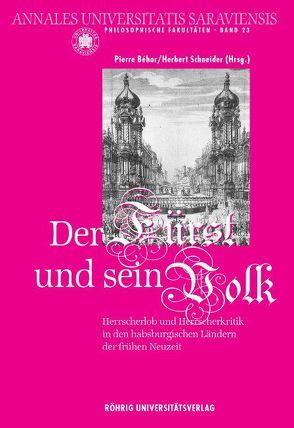 Der Fürst und sein Volk von Béhar,  Pierre, Brücher,  Wolfgang, Girardet,  Klaus M., Sauder,  Gerhard, Schneider,  Herbert