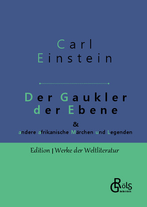 Der Gaukler der Ebene von Einstein,  Carl