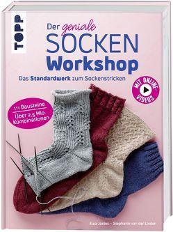 Der geniale Sockenworkshop von Jostes,  Ewa, van der Linden,  Stephanie