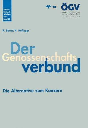 Der Genossenschaftsverbund von Borns,  Rainer, Hofinger,  Hans