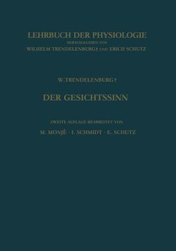 Der Gesichtssinn Grundzüge der Physiologischen Optik von Monje,  Manfred, Schmidt,  Ingeborg, Schütz,  Erich, Trendelenburg,  Wilhelm