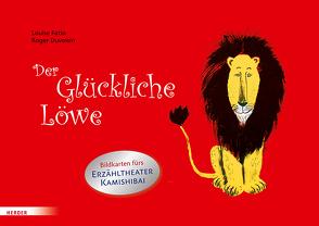 Der Glückliche Löwe. Bildkarten fürs Erzähltheater Kamishibai von Duvoisin,  Roger, Fatio,  Louise, Mühlenweg,  Fritz, Mühlenweg,  Regina